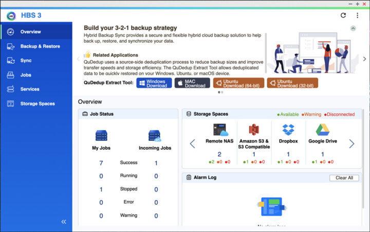 View job status at a glance  Xem nhanh trạng thái tất cả các công việc, các kết nối, các nhật ký, log kết nối, các cảnh báo cần thiết